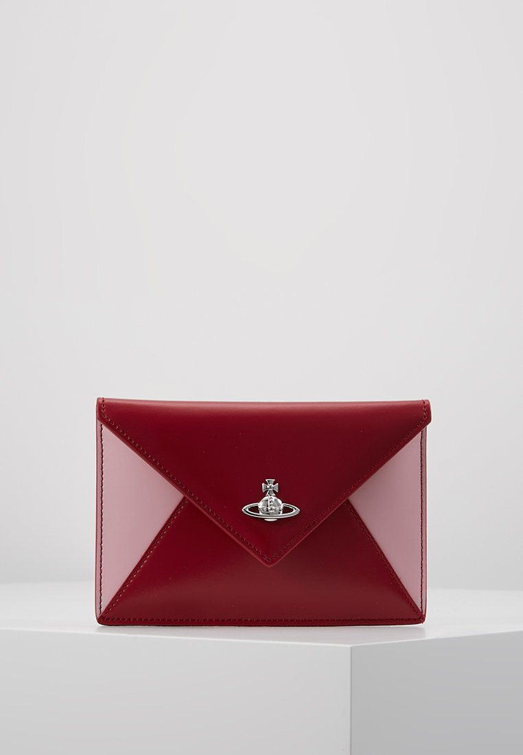 Vivienne Westwood - PRIVATE SMALL ENVELOPE POUCH - Punge - pink