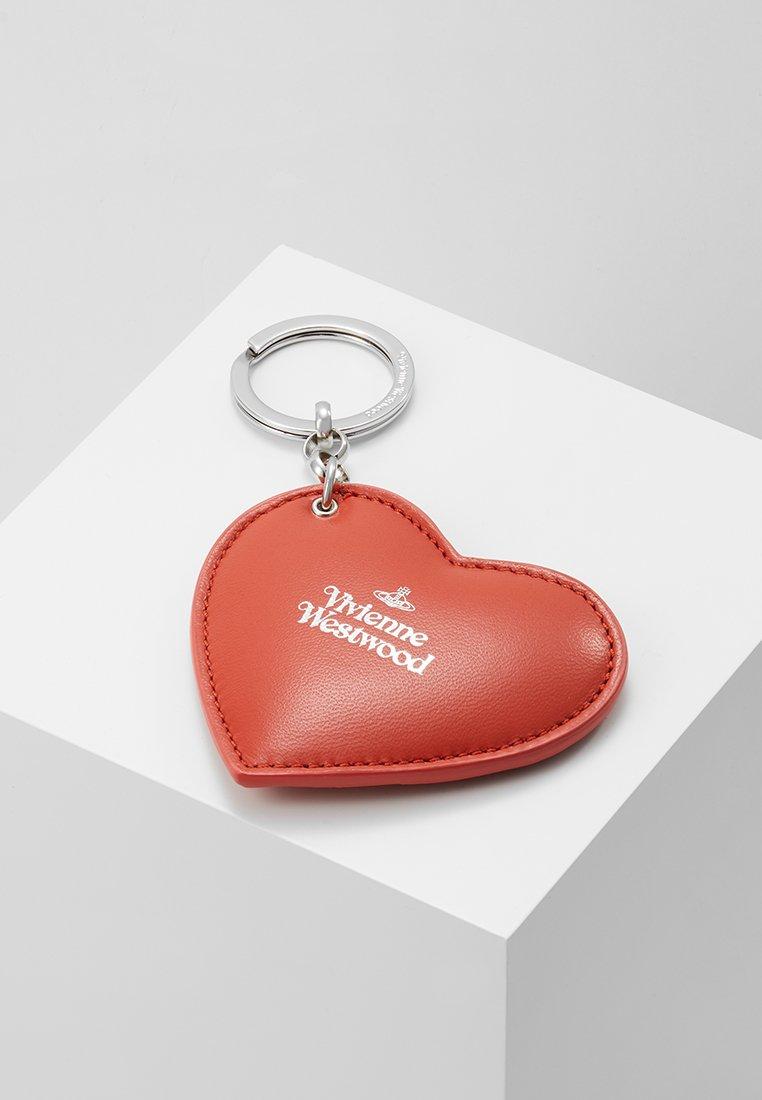 Vivienne Westwood - HEART KEYRING - Llavero - orange