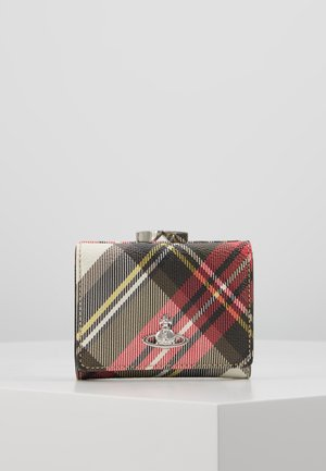 DERBY SMALL FRAME WALLET - Monedero - red