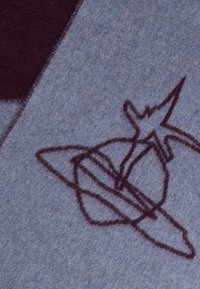 Vivienne Westwood - SCARF - Szal - melange blue - 2