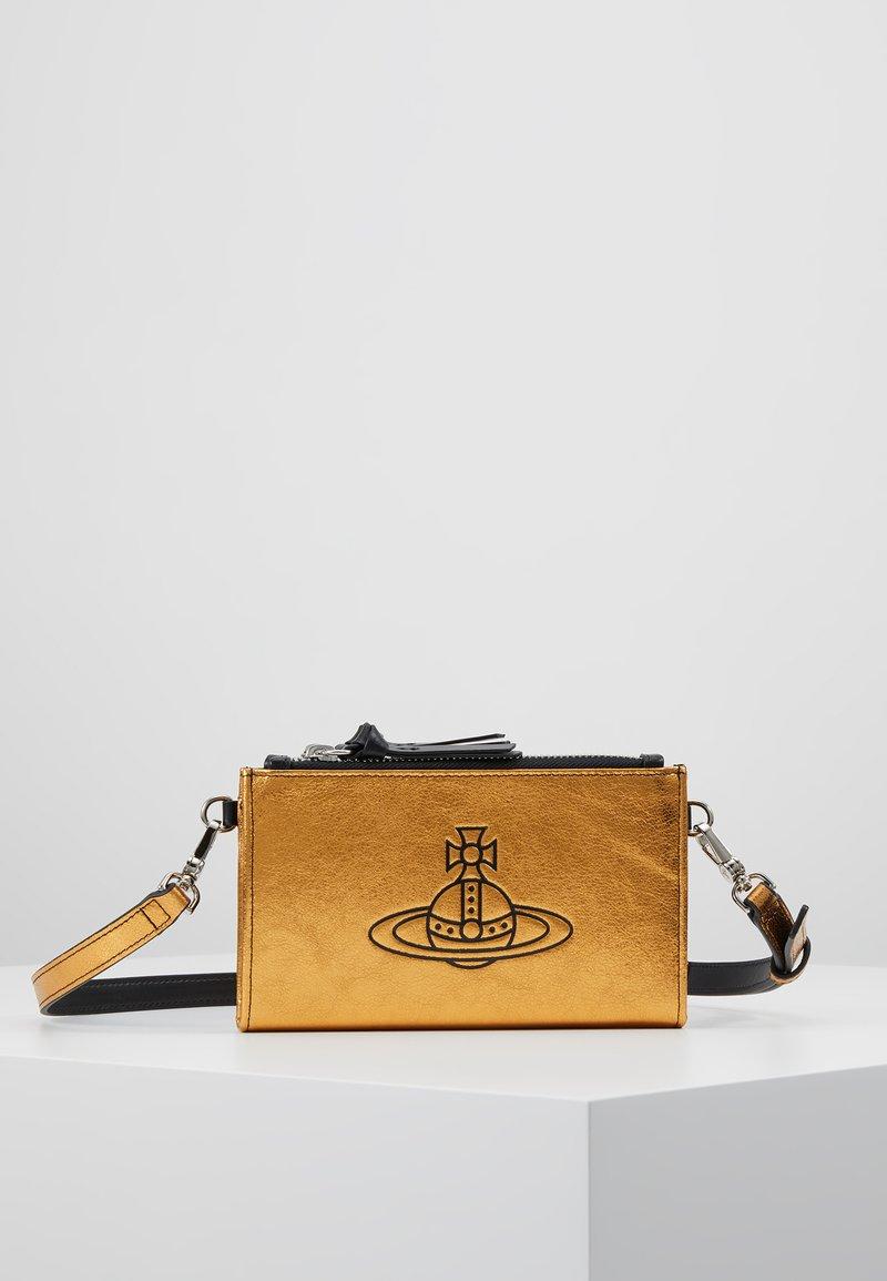 Vivienne Westwood - ANNA PHONE WALLET BUMBAG - Bum bag - gold