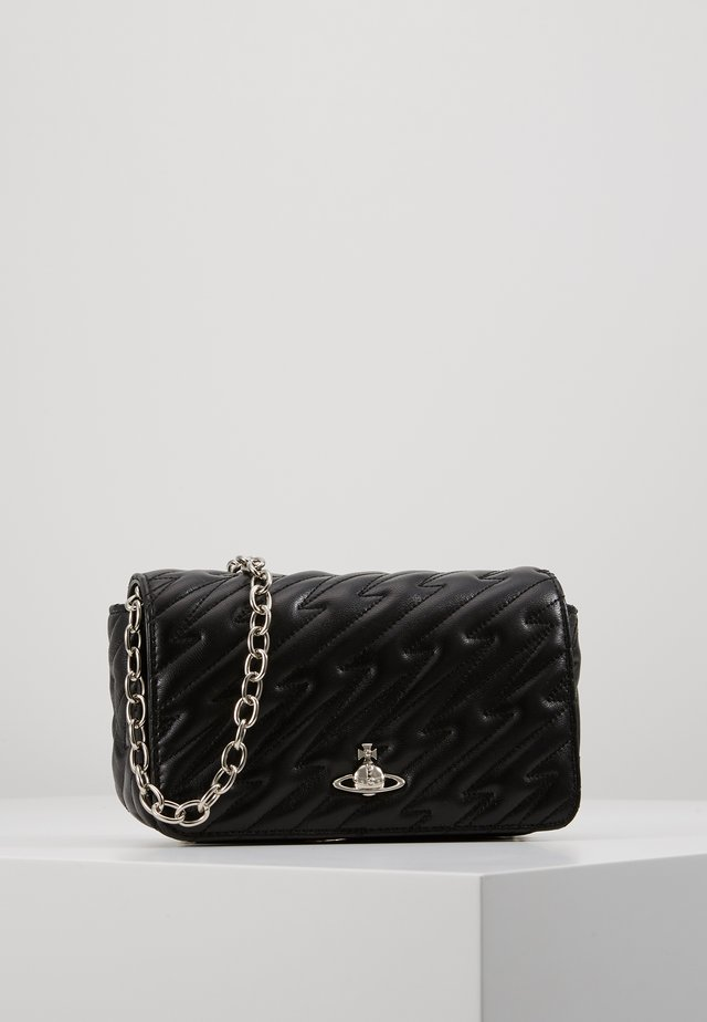 COVENTRY MINI CROSSBODY - Axelremsväska - black