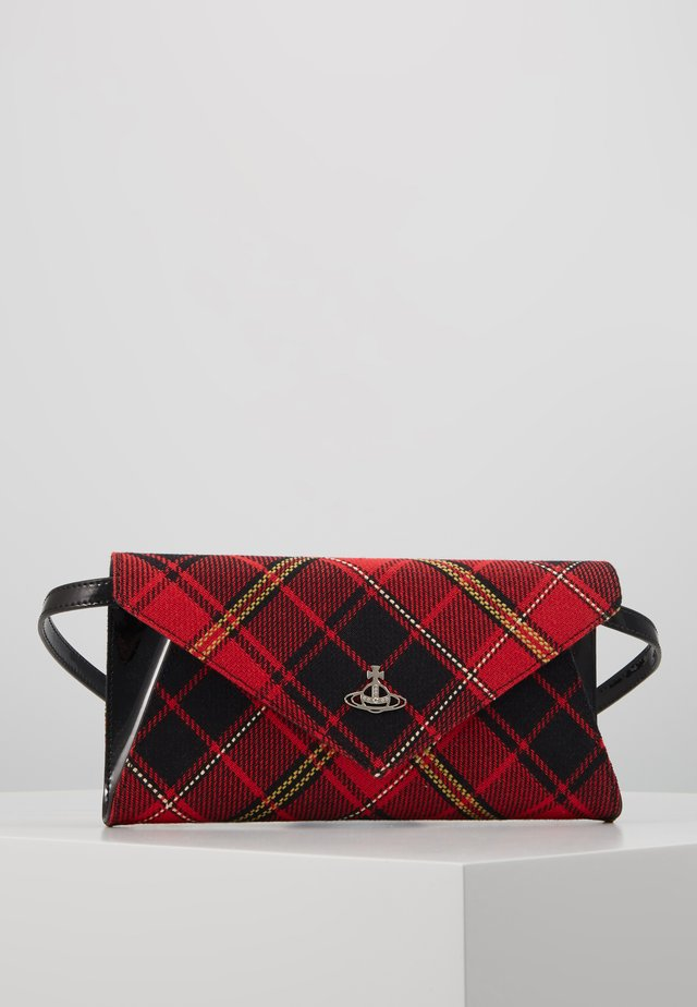 LISA ENVELOPE - Clutch - red/black