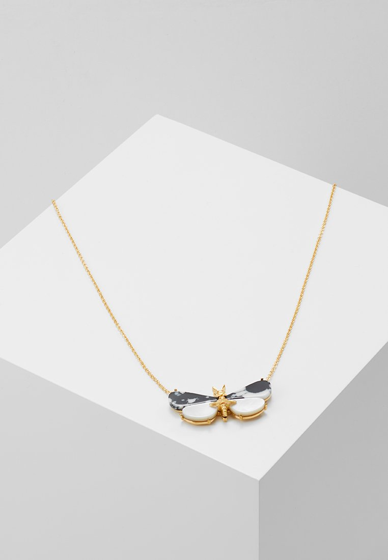 Vivienne Westwood - BUTTERFLY PENDANT - Collier - black/white