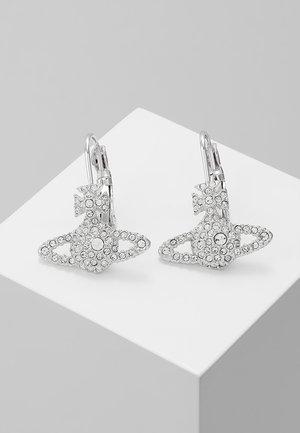 GRACE BAS RELIEF EARRINGS - Øredobber - crystal