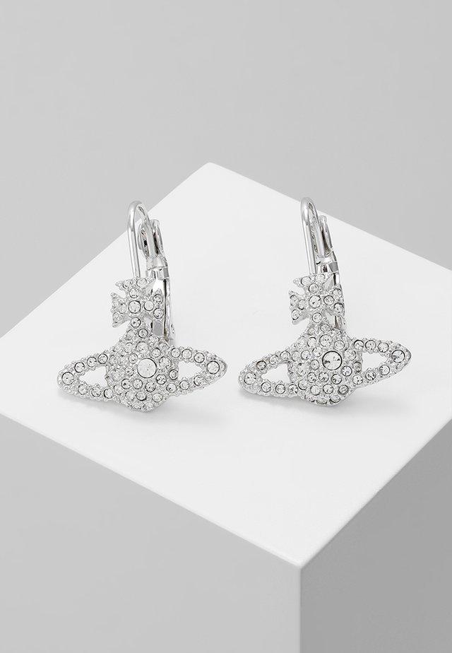 GRACE BAS RELIEF EARRINGS - Earrings - crystal