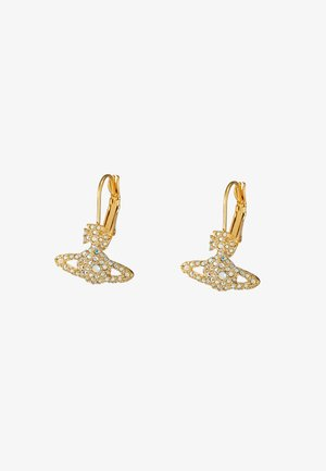 GRACE BAS RELIEF EARRINGS - Pendientes - aurore boreale/gold-coloured