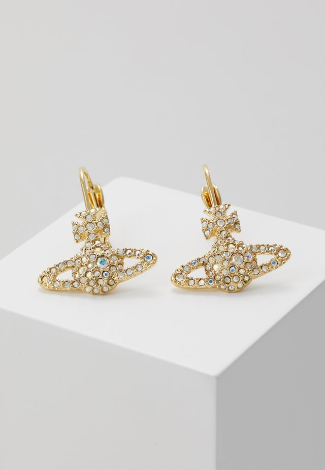 GRACE BAS RELIEF EARRINGS - Ohrringe - aurore boreale/gold-coloured