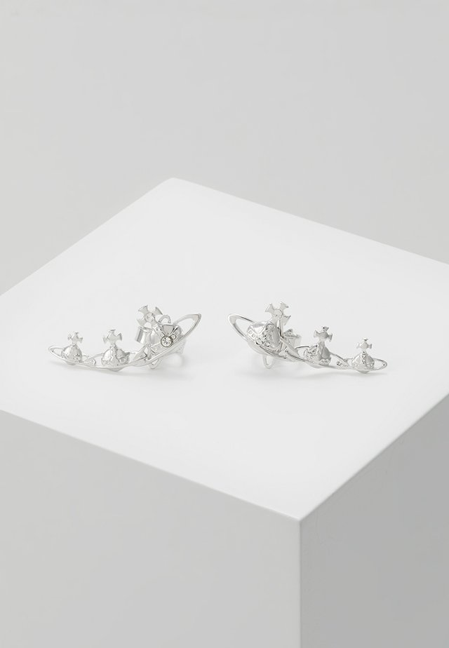 CANDY EARRINGS - Ohrringe - rhodium-coloured