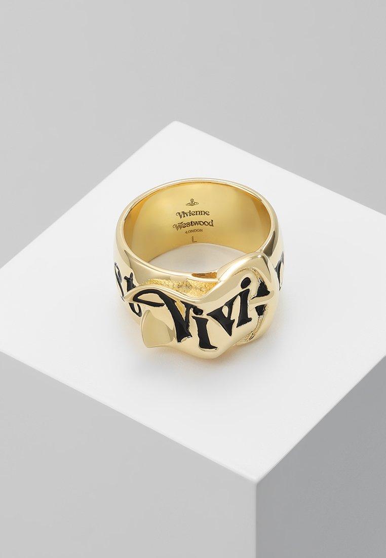 Vivienne Westwood - BELT  - Ring - gold-coloured