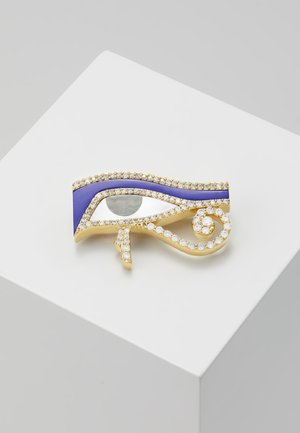 DESIREE BROOCH - Accessoires - yellow gold-coloured