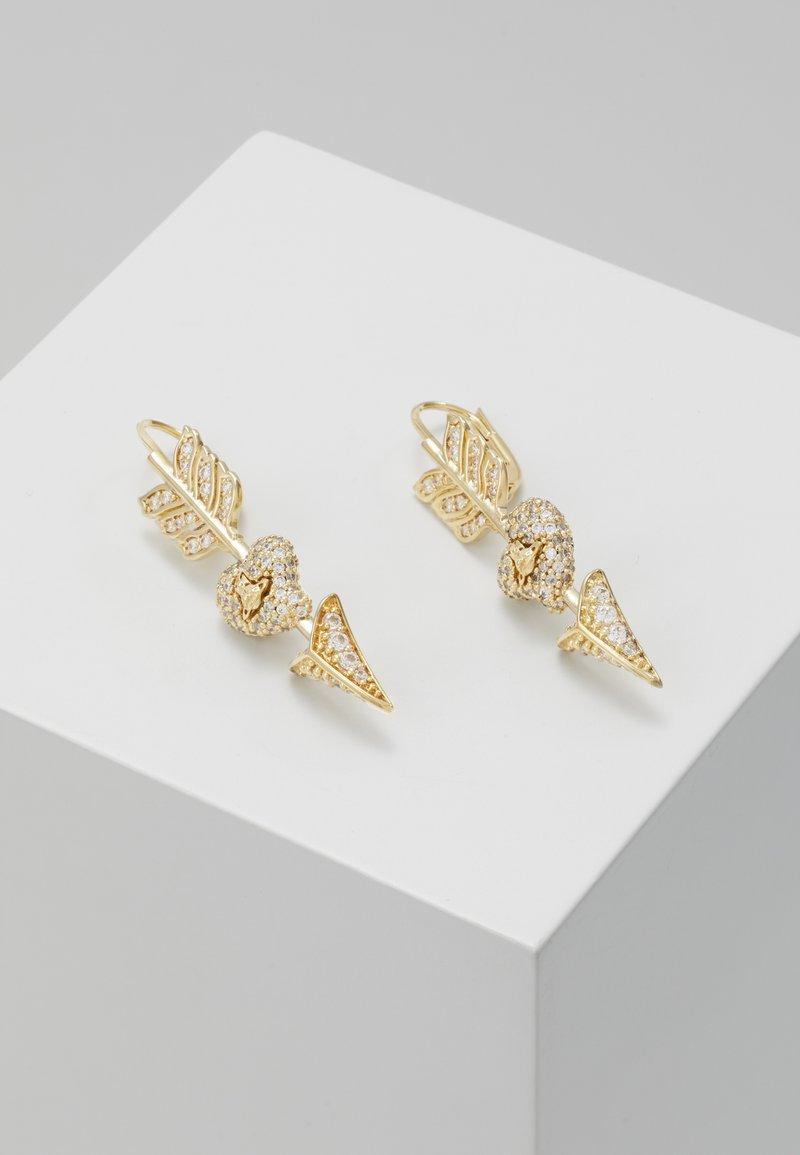 Vivienne Westwood - LUMINITA DROP EARRINGS - Pendientes - yellow gold-coloured