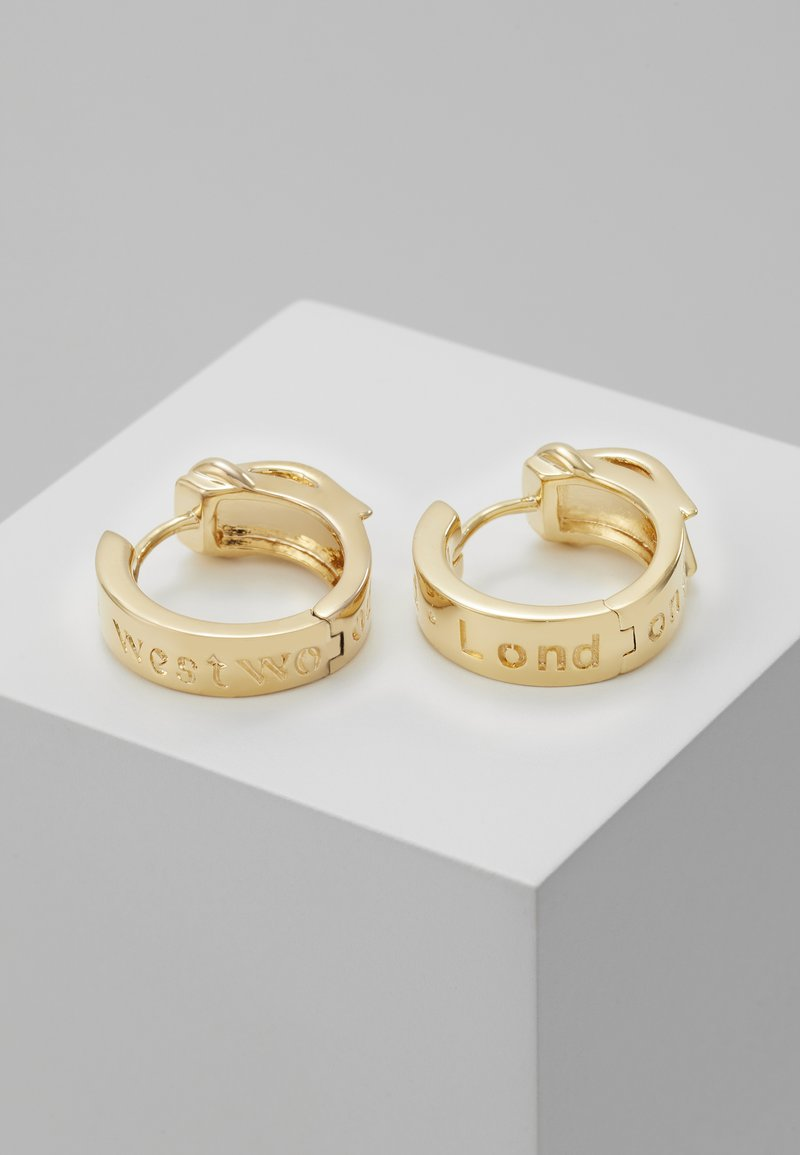 Vivienne Westwood - BOBBY EARRINGS  - Pendientes - yellow gold-coloured