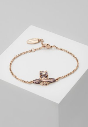 ARETHA RELIEF BRACELET - Bracciale - pink gold-coloured