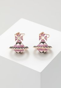 Vivienne Westwood - GABRIELLA EARRINGS - Pendientes - pink/gold-coloured - 0