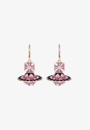 GABRIELLA EARRINGS - Earrings - pink/gold-coloured