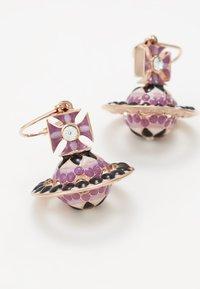Vivienne Westwood - GABRIELLA EARRINGS - Pendientes - pink/gold-coloured - 5