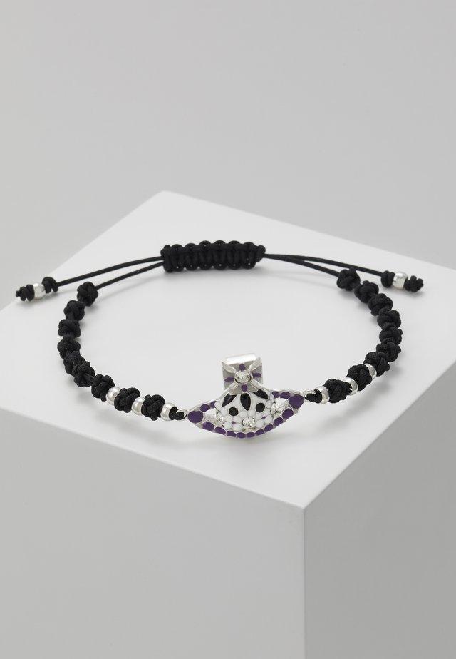 GABRIELLA BRFRIENDSHIP BRACELET  - Armband - black