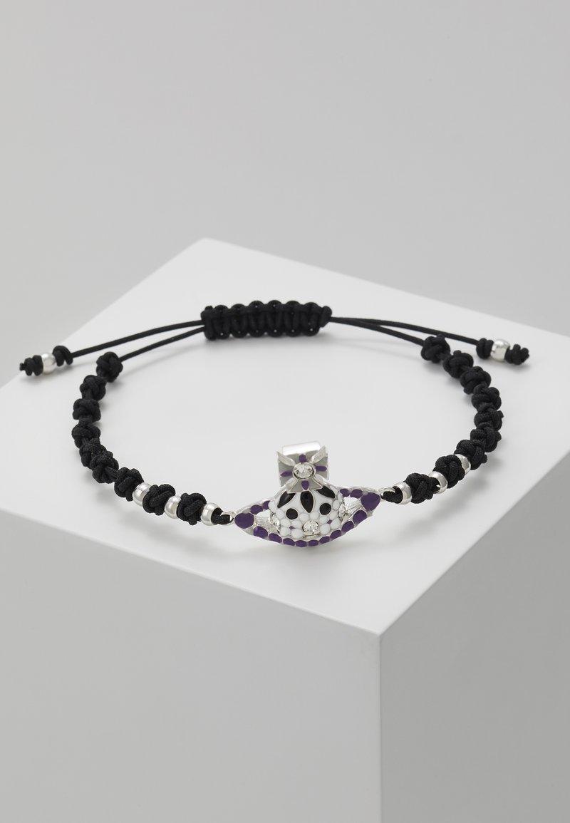 Vivienne Westwood - GABRIELLA BRFRIENDSHIP BRACELET  - Bracelet - black