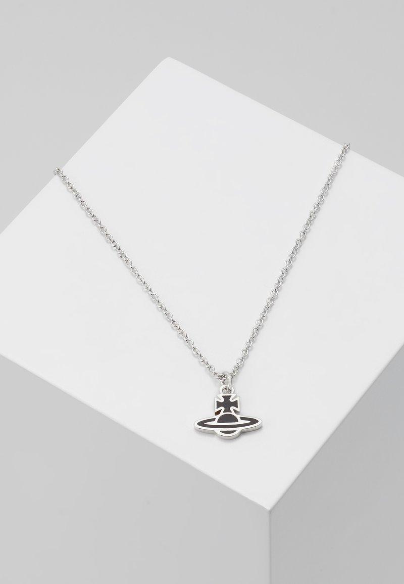 Vivienne Westwood - ROMINA ORB PENDANT  - Charm - silver-coloured/black