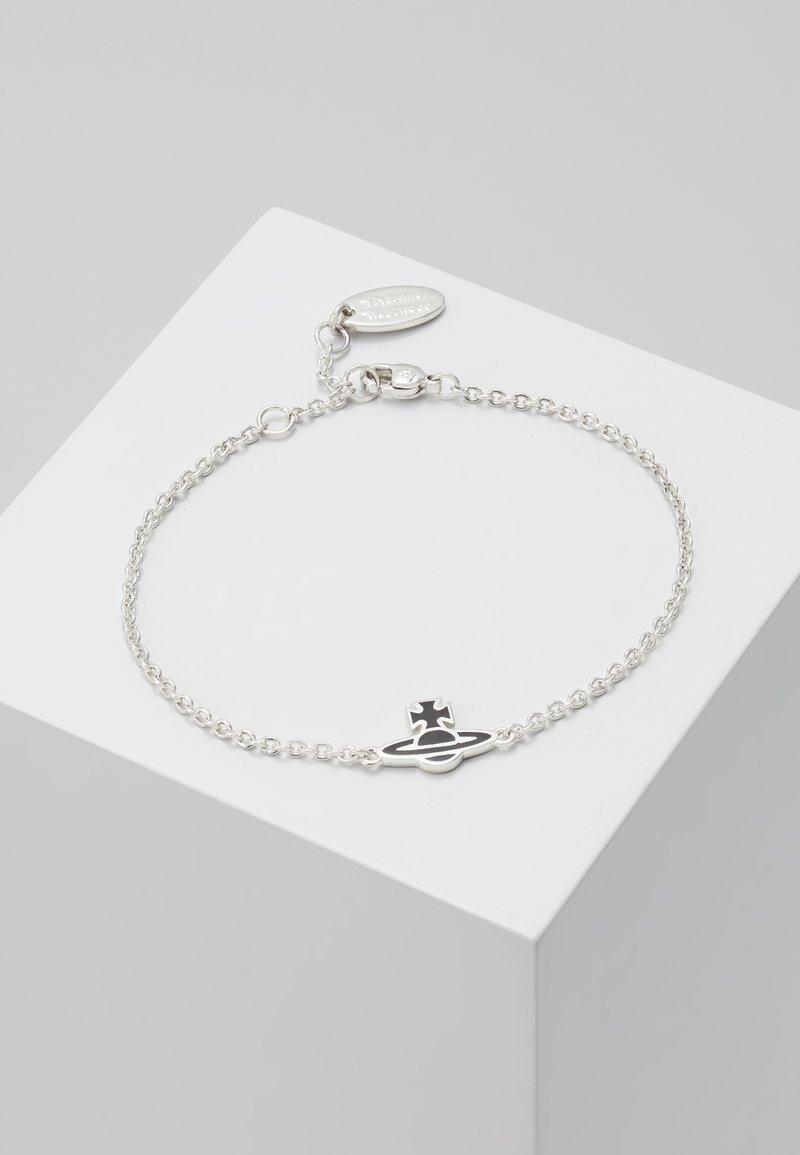 Vivienne Westwood - ROMINA BRACELET  - Armband - silver-coloured/black