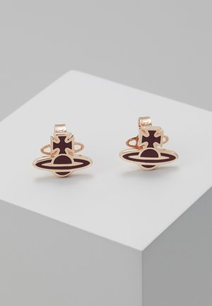 ROMINA EARRINGS  - Örhänge - bordeaux