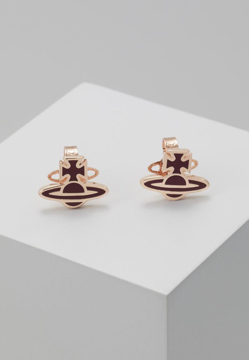 Vivienne Westwood - ROMINA EARRINGS  - Náušnice - bordeaux