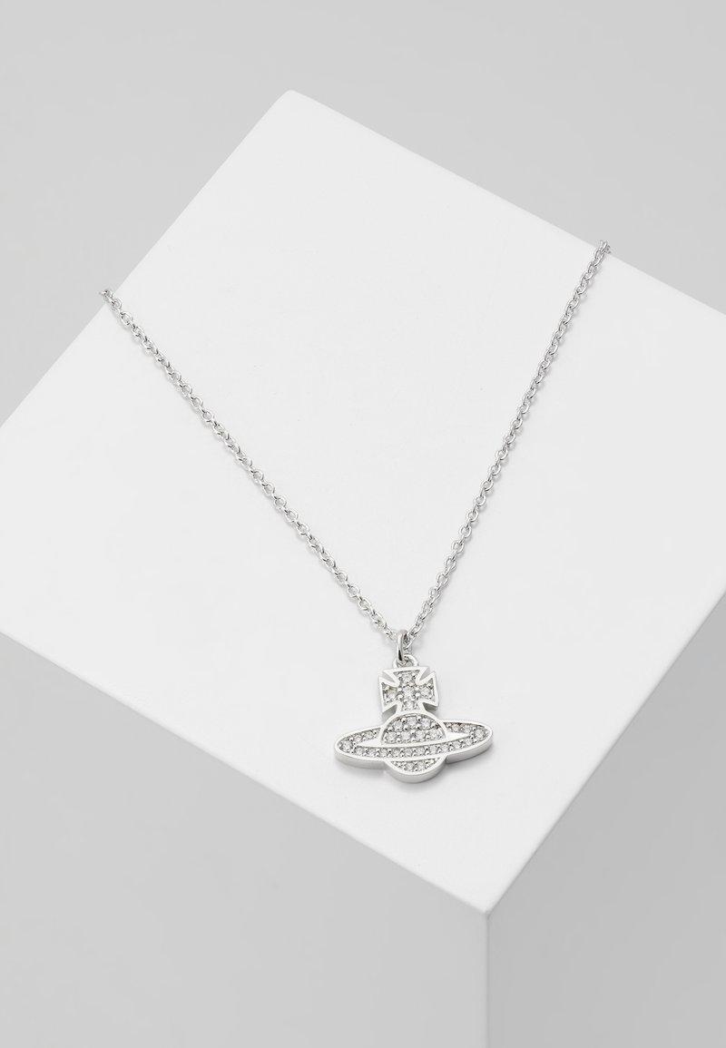 Vivienne Westwood - ROMINA PAVE PENDANT  - Necklace - silver-coloured