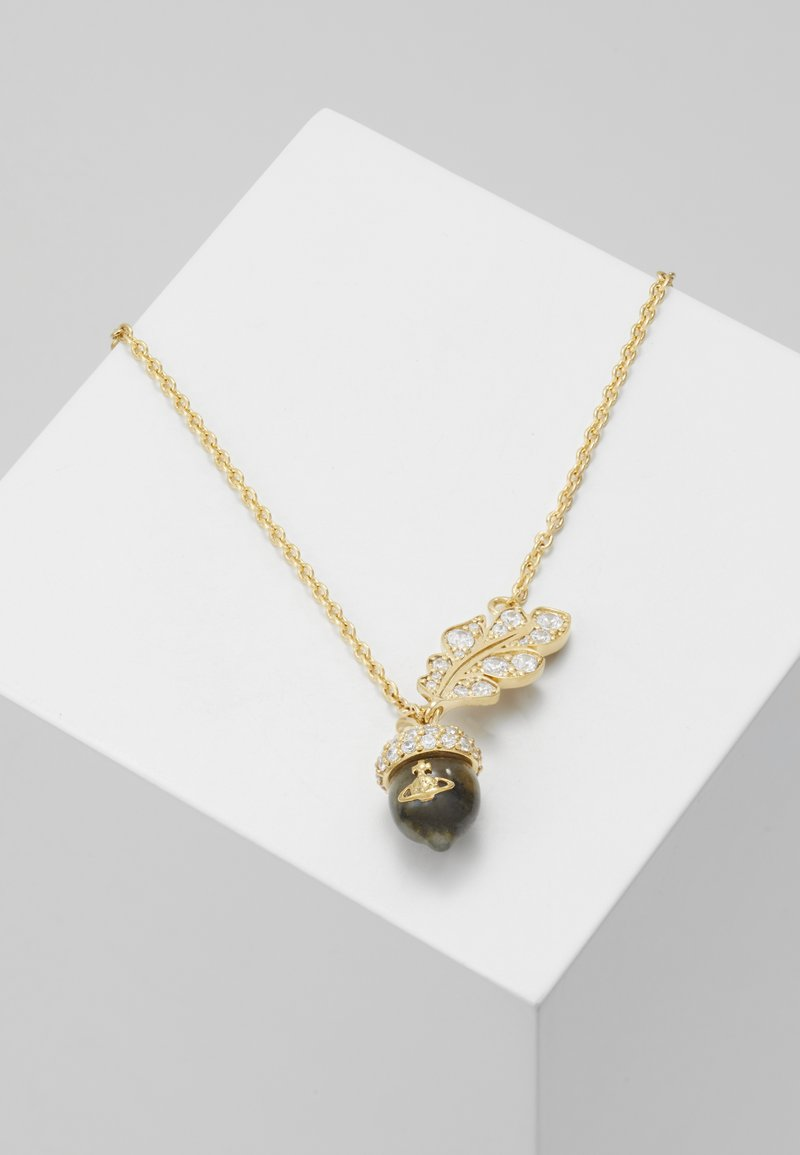 Vivienne Westwood - DONELLA PENDANT - Necklace - yellow gold-coloured