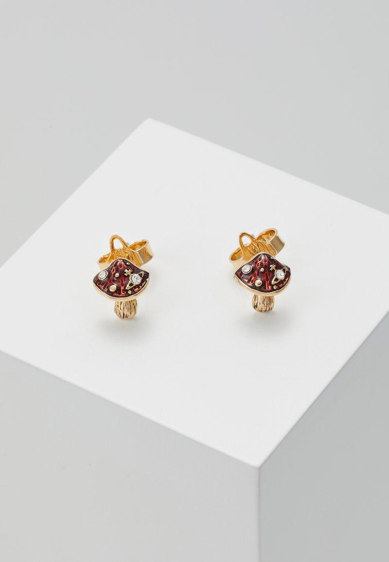 Vivienne Westwood - ORLA STUD EARRINGS - Earrings - yellow gold-coloured