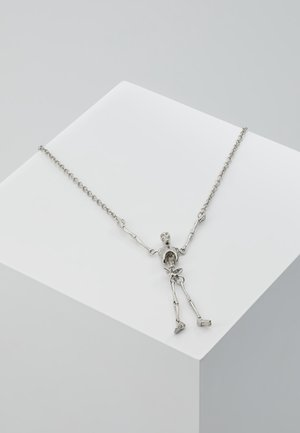 SKELETON LONG NECKLACE - Necklace - palladium