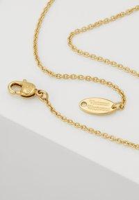 Vivienne Westwood - THIN LINES FLAT ORB PENDANT - Náhrdelník - gold-coloured - 2
