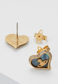 Vivienne Westwood - PETRA EARRINGS - Pendientes - yellow gold-coloured - 2
