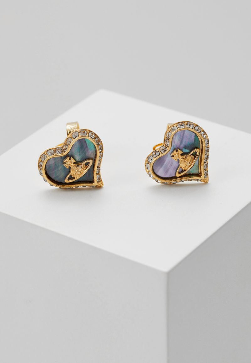 Vivienne Westwood - PETRA EARRINGS - Pendientes - yellow gold-coloured