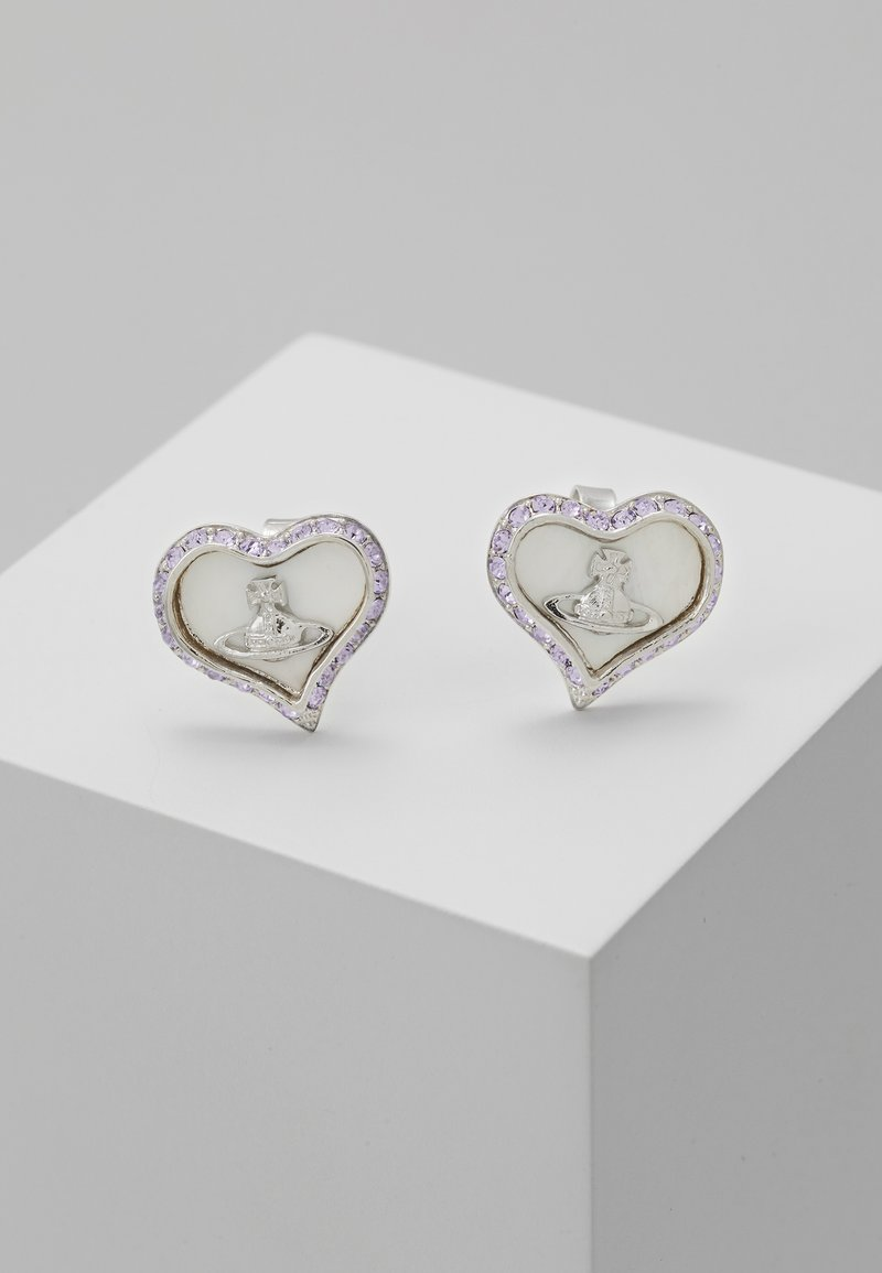 Vivienne Westwood - PETRA EARRINGS - Oorbellen - rhodium