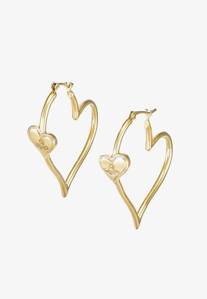 SALIMA EARRINGS - Pendientes - yellow gold-coloured