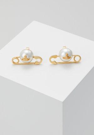 JORDAN EARRINGS - Boucles d'oreilles - yellow gold-coloured