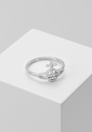 CARY - Ring - white/rhodium-coloured