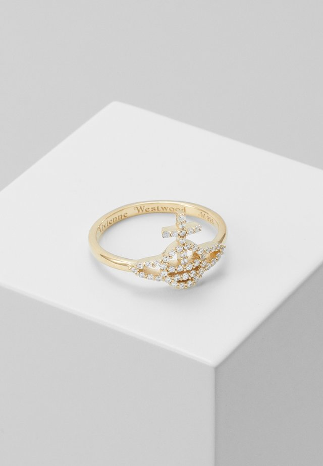 CARY - Ring - white/gold-coloured