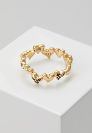 ROSALINDA  - Ring - black/gold-coloured