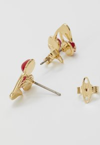 Vivienne Westwood - MISTY EARRINGS - Earrings - red/green/gold-coloured - 2