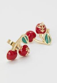 Vivienne Westwood - MISTY EARRINGS - Earrings - red/green/gold-coloured - 4