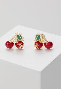 Vivienne Westwood - MISTY EARRINGS - Earrings - red/green/gold-coloured - 0