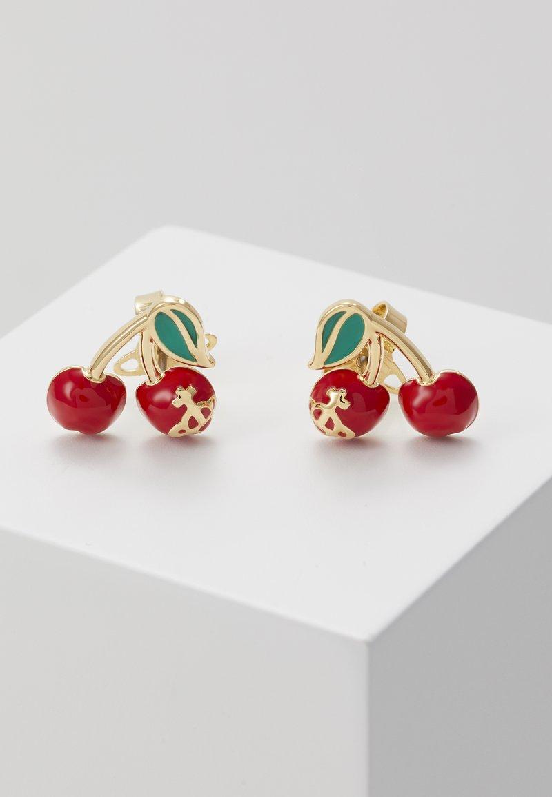 Vivienne Westwood - MISTY EARRINGS - Earrings - red/green/gold-coloured