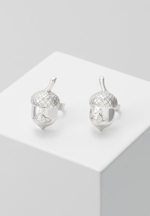 ACORN EARRINGS - Øredobber - silver-coloured