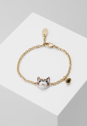 CAT BRACELET - Bracelet - brown/black/white/gold-coloured
