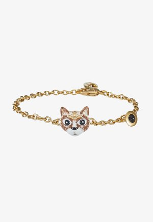 CAT BRACELET - Bracelet - brown/black/white/gold-coloured