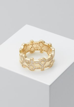 ISAAC - Ring - white/gold-coloured