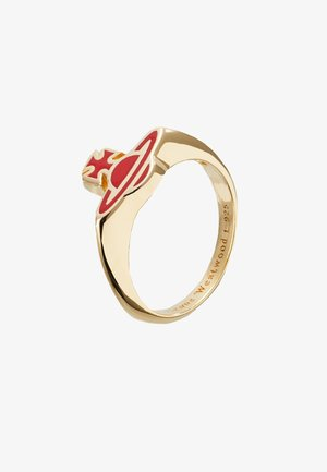 ROMINA  - Ring - red/gold-coloured