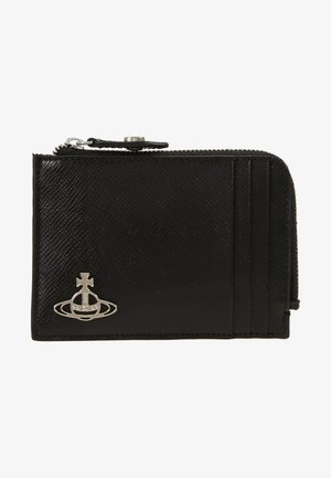 KENT ZIP CREDIT CARD HOLDER - Peněženka - black